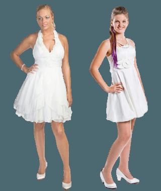 sensation white jurken