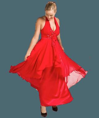 symphonica in rosso jurken