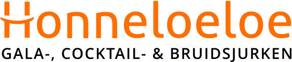 Honneloeloe galajurken, cocktailjurken en bruidsmode logo